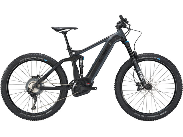 Conway eMF Powertube 527 Plus E-MTB Full Suspension black